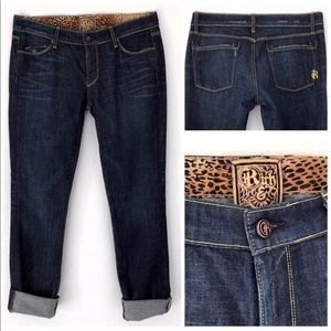 RICH & SKINNY STUDLY VTG STRAIGHT FIT JEANS SZ 29